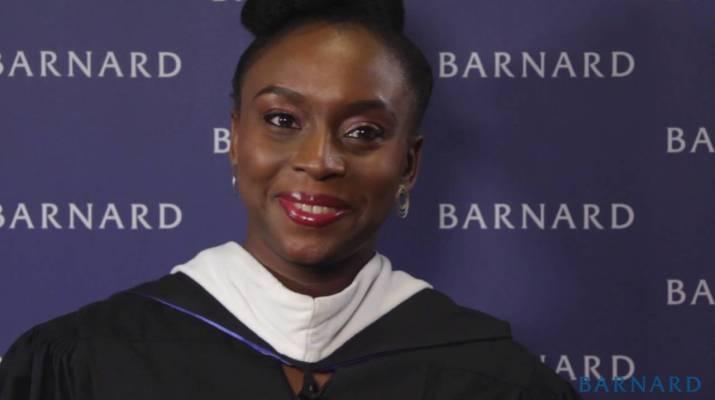Chimamanda Ngozi Adichie awarded Barnard