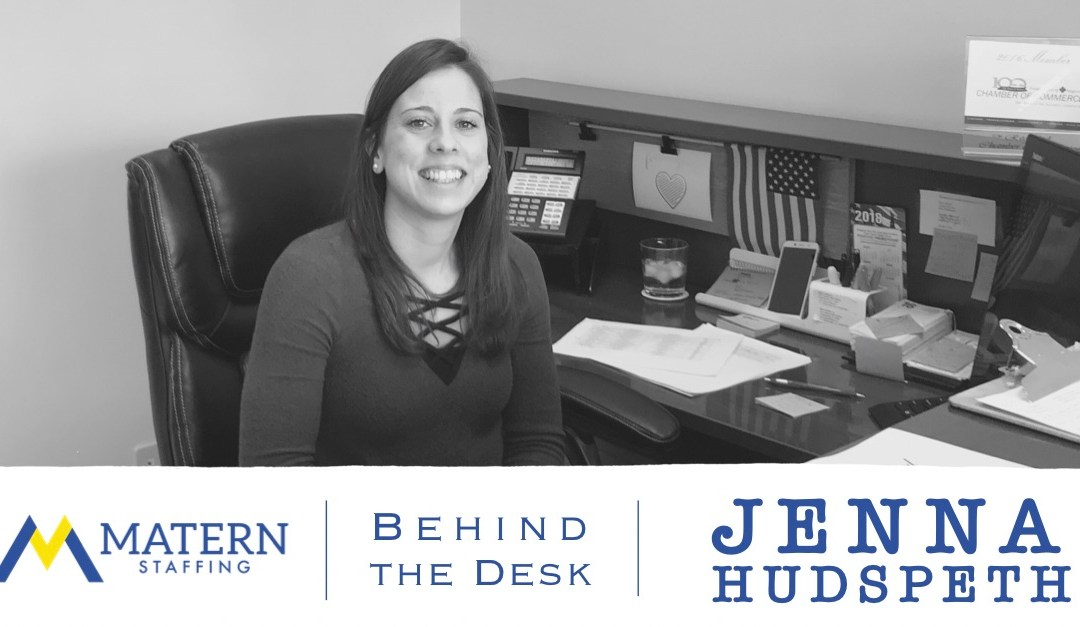 Behind the Desk: Jenna Hudspeth