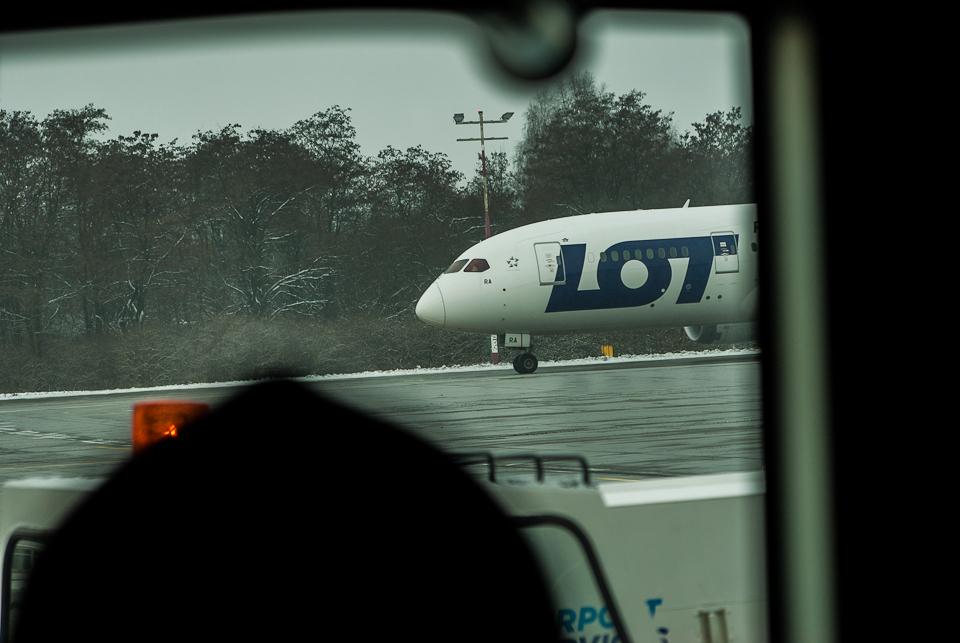 Boeing 787 Dreamliner na Balicach