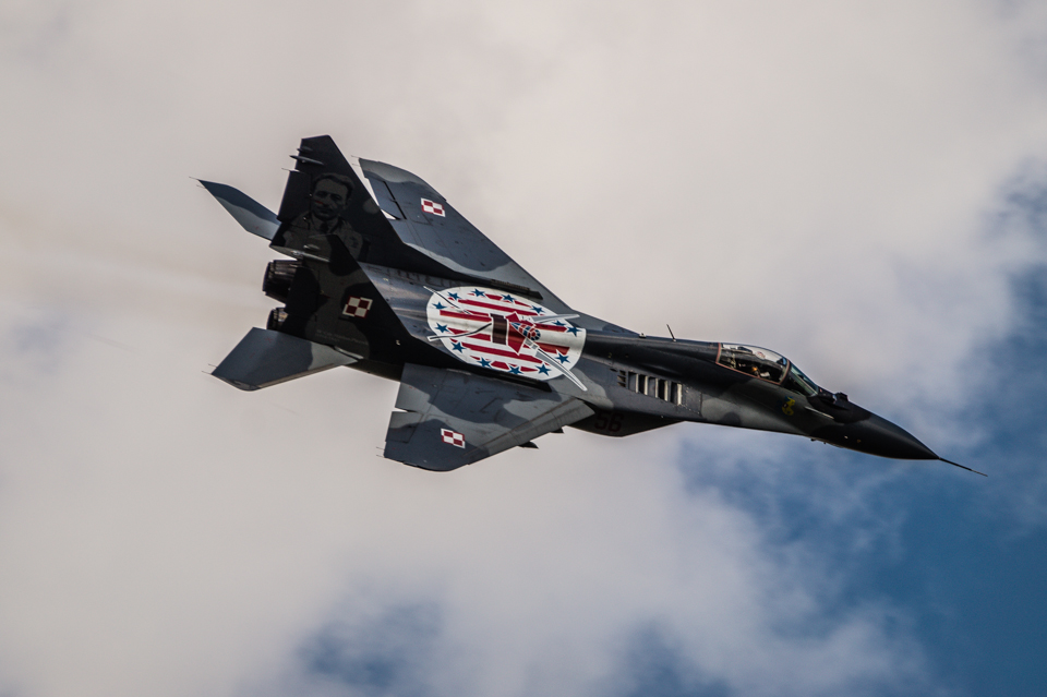 Radom Airshow MiG-29 Kościuszko 2013