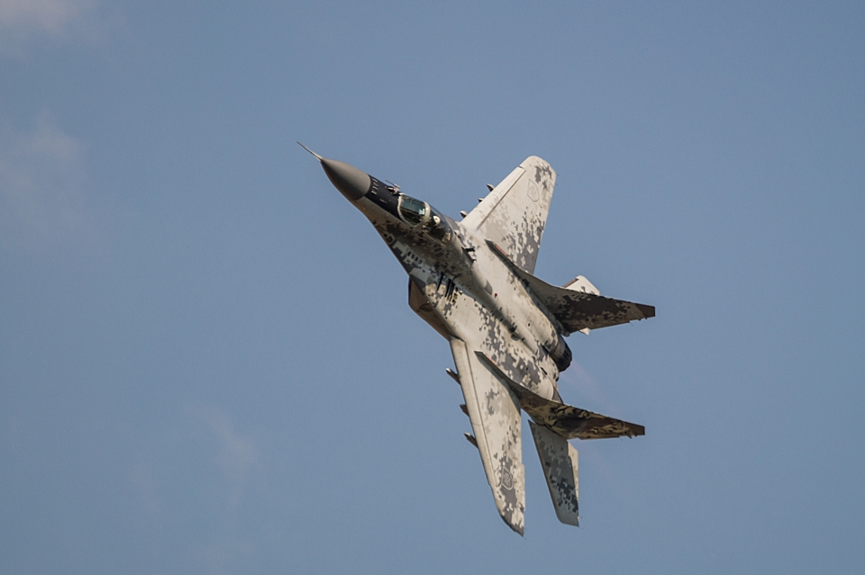 "MiG-29 ""Pixel"" SIAF 2013"