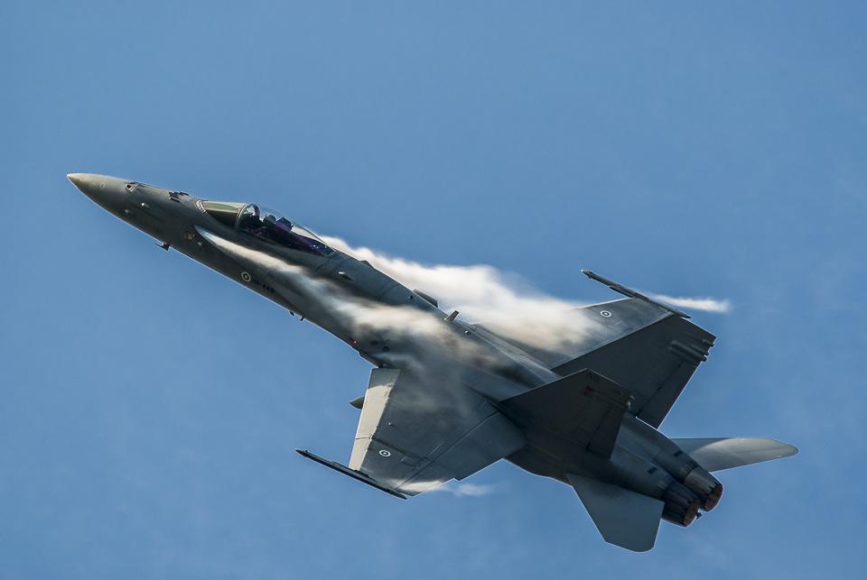 F18 Hornet NATO Days 2014