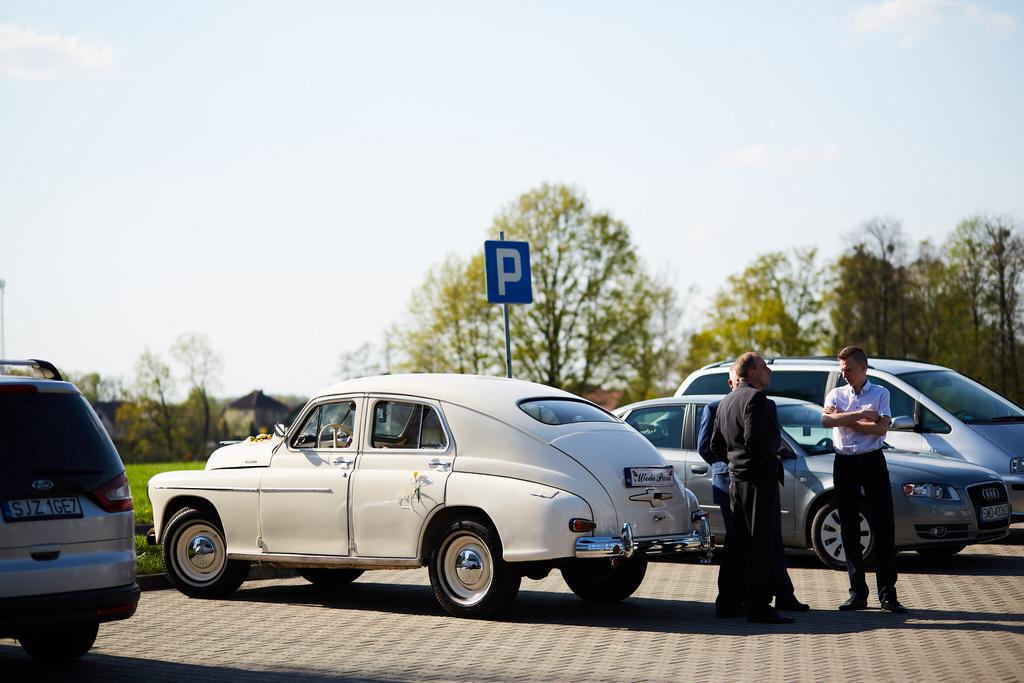 Warszawa auto do ślubu