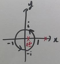 複素積分積分経路その2