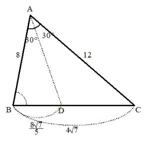 角の2等分線の長さ