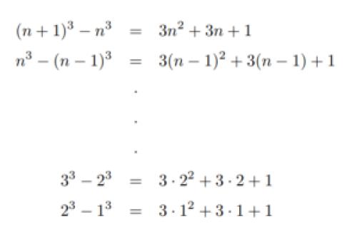 公式 の 三 乗 【基本】和の公式(3乗の和)