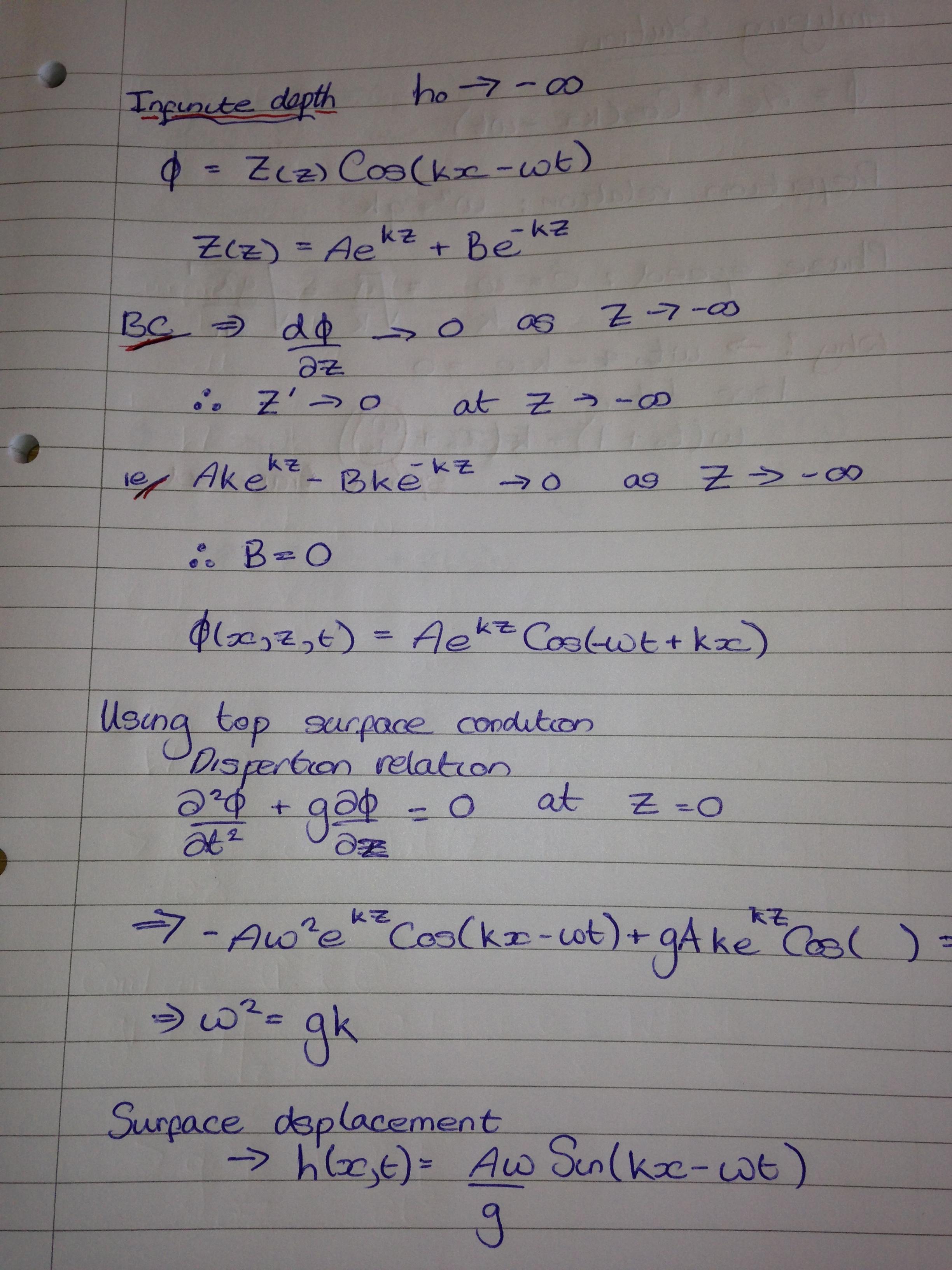 Week 10 Bernoulli Equation In Potential Flow Amp Water