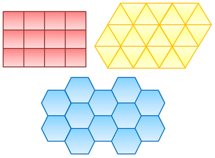 Regular Polygons In Nature Tessellation: T...