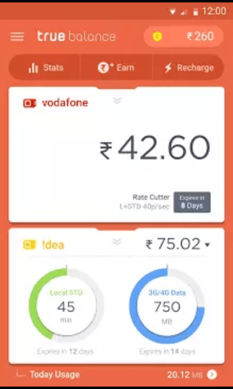 Earn Free Mobile Recharge Using True Balance App