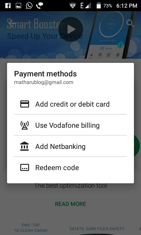 How To Buy Play Store App Using Carrier Or Sim's Balance ?