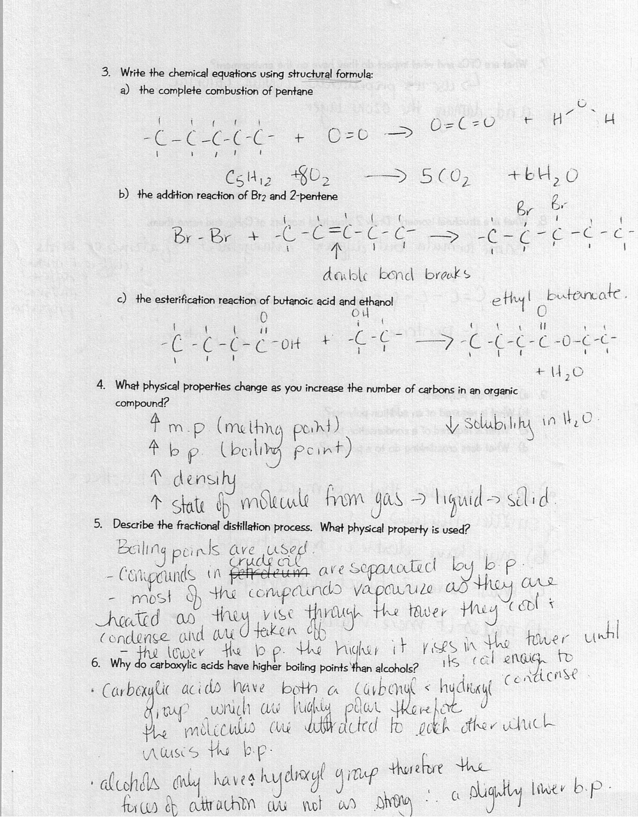 Unit 3 Chemical Equations And Stoichiometry Worksheet
