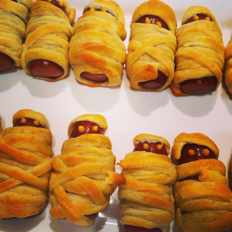 Spooky Kitchen Math Halloween Mummies