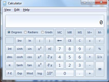 seven scientific calculators for computer users math blog