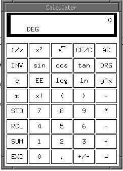 xcalc TI-30 Default Scientific Calculator