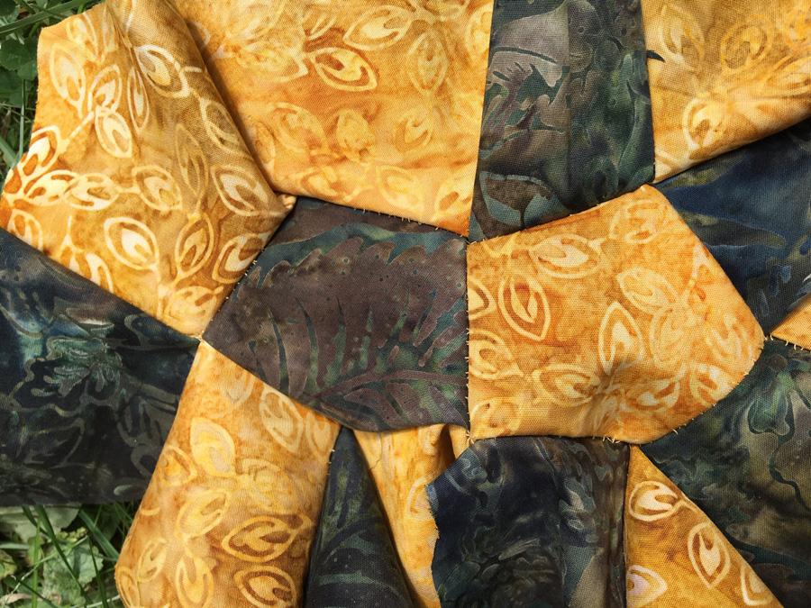 Hyperbolic Quilt by Daina Taimina