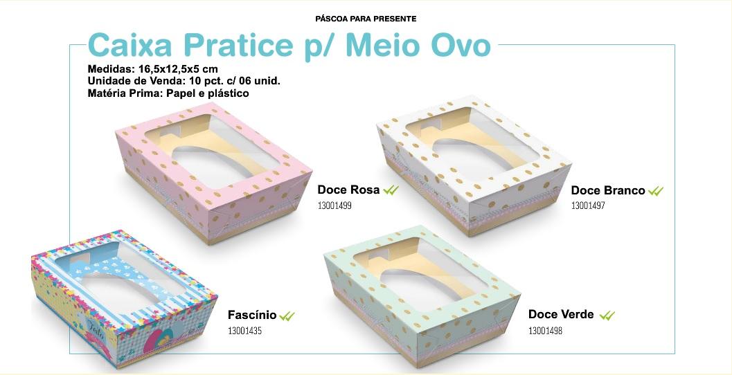 Novas Embalagens de Meio Ovo Cromus Páscoa 2016