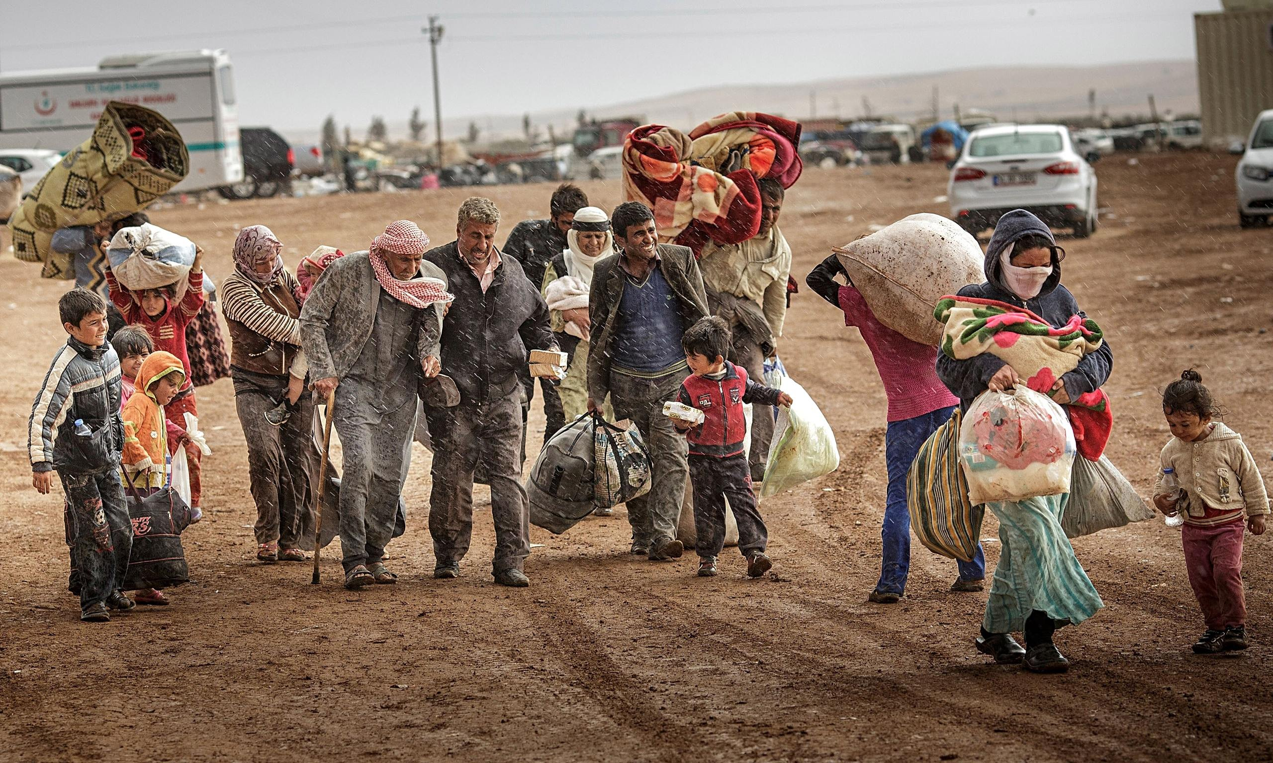Turkey syrian refugees kurds
