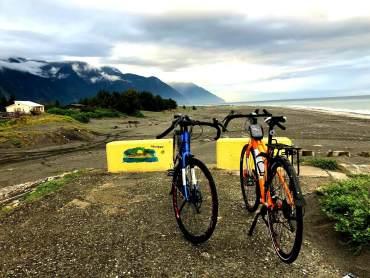 Compare a touring bike with a road bike