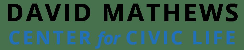 The David Mathews Center for Civic Life