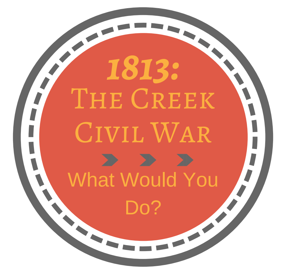 The Creek Civil War: What Would You Do?