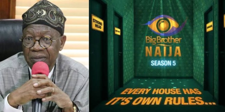 Lai Mohammed reportedly orders NBC to shut down BBNaija 'over COVID-19'