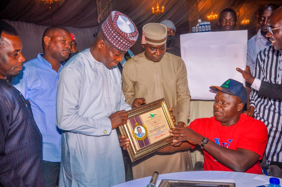 Plateau Excellence Award Bello Lukman's Book launch (13)