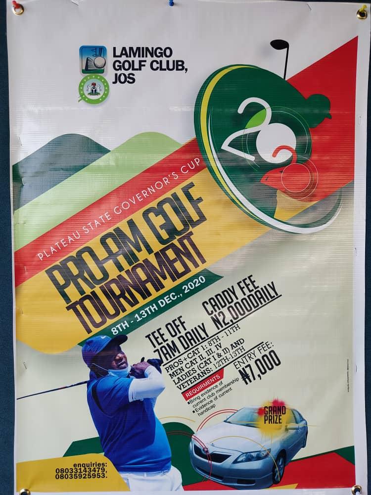 Lamingo Golf Club host 2020 edition Governor's Cup Pro-Amature Golf Tournament 2