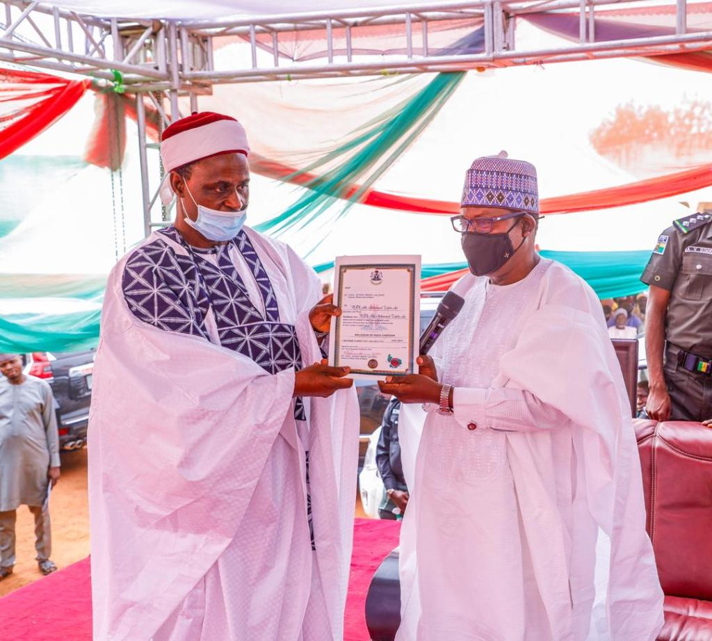 GOVERNOR LALONG INSTALLS 2 TRADITIONAL RULERS IN WASE (2)