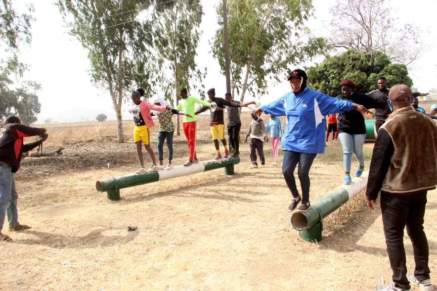 IGSR trains 500 Youth from Plateau Central at the Youth Peace Camp to Prevent Violent Extremism (20)