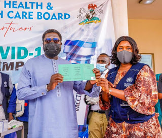 Plateau Gov Lalong, Tyoden, others receive COVID-19 vaccine (1)