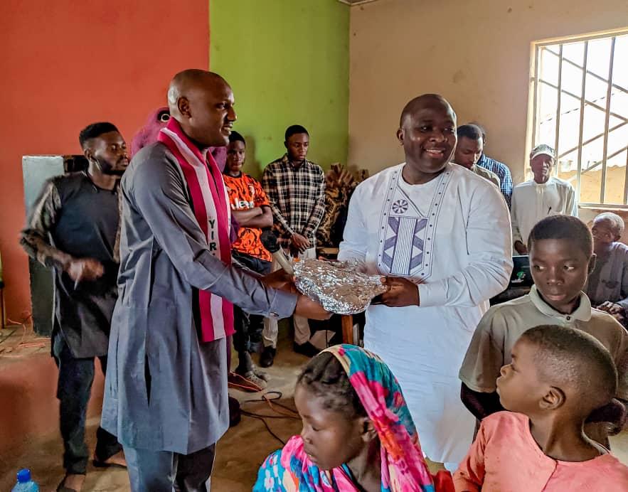 Godwin Okoko gifts 10 Plateau orphan children scholarship in Bassa LGA as he marks birthday 6