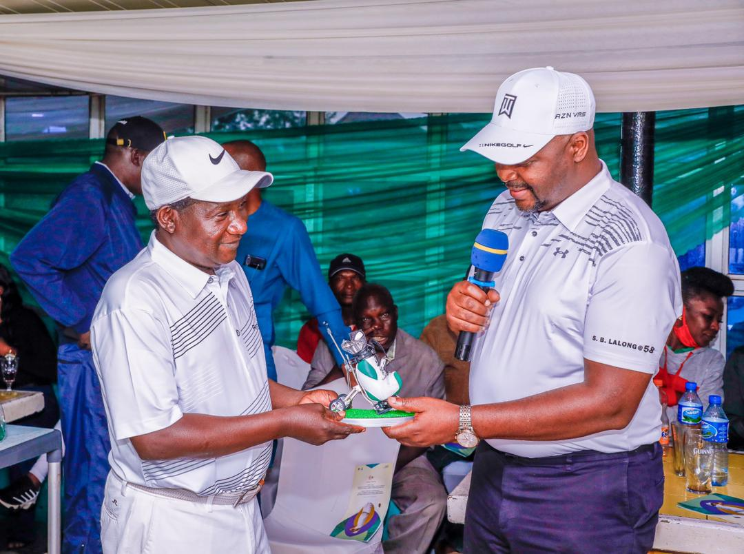 Sports Minister, Golf Community Honour Governor Lalong @58 5