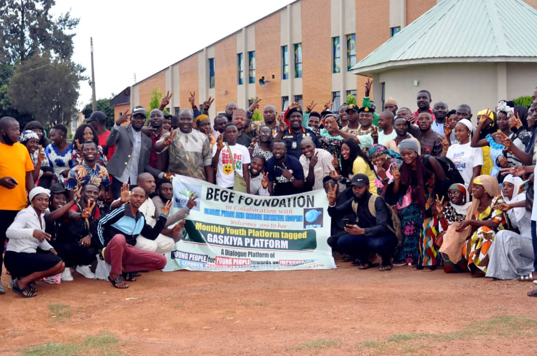 Youths should drive the process for building Peaceful Communities BEGE Foundation 11