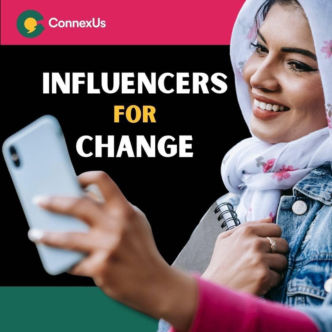 ConnexUs Influencer for Change www.mathewtegha.com