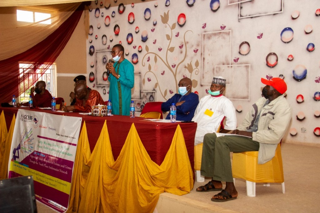 IGSR Organises Early Warning Seminar for 250 Youth Peace Ambassadors and Community Members in Plateau Central Senatorial Zone 6