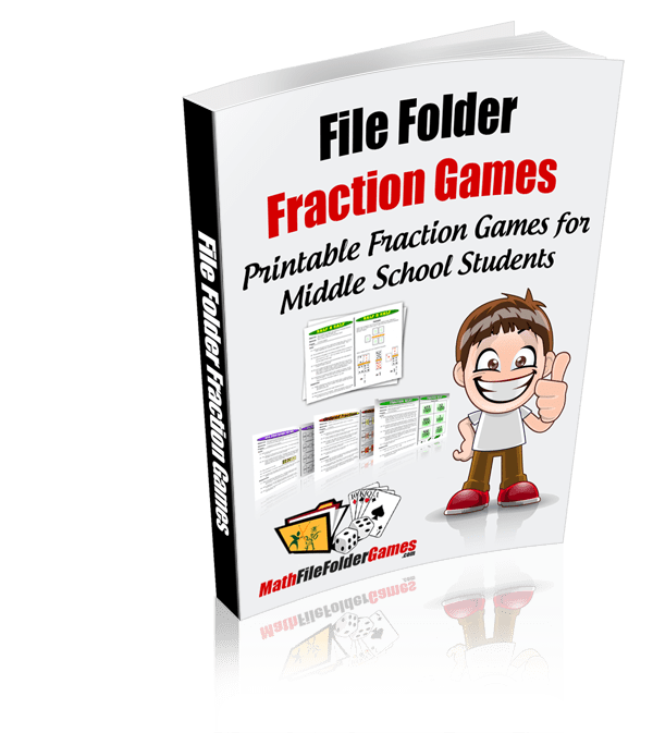 photo about Comparing Fractions Game Printable known as Portion Video games