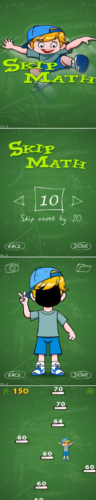 Skip Counting - skip count by