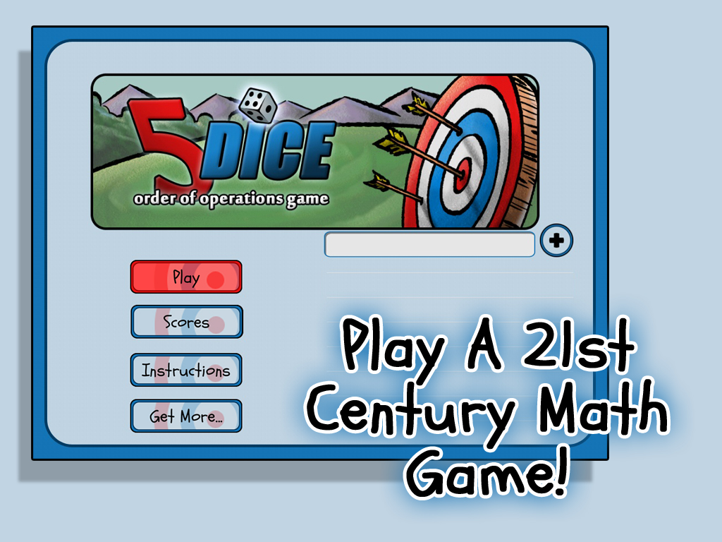 5 Dice: Order of Operations Game (App)