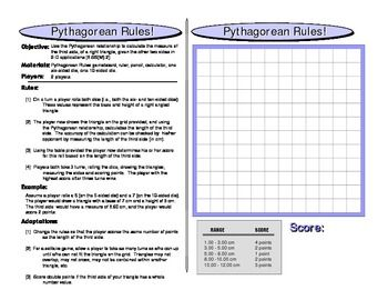 Pythagorean Rules