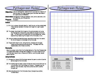 Pythagorean Rules
