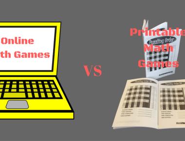 Online Math Games VS Printable Math Games