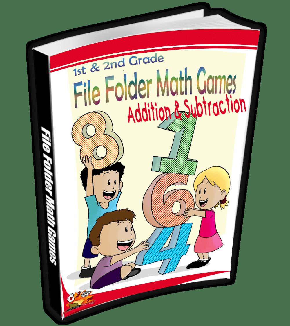 Addition & Subtraction File Folder Math Games