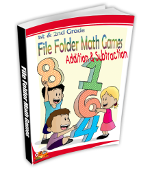 Addition & Subtraction File Folder Math Games