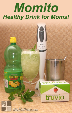 Yummy Momito drink - safe for pregnancy too!