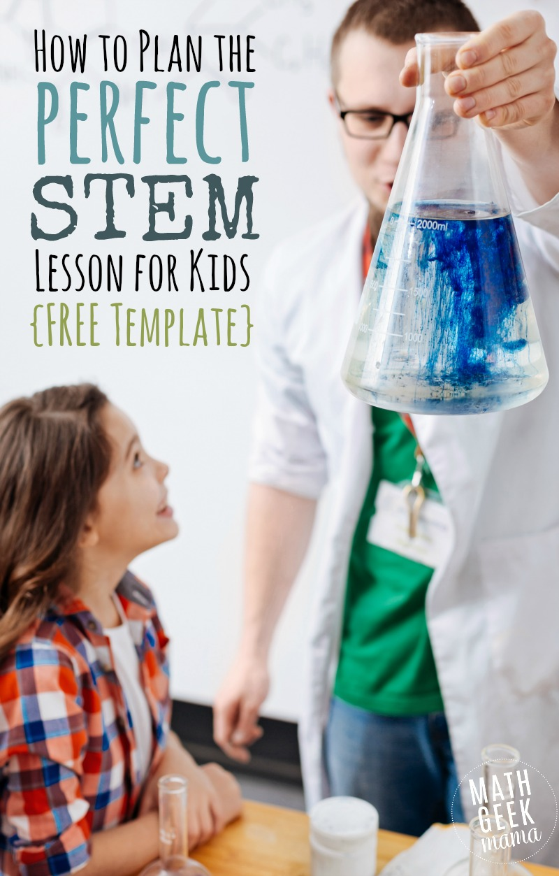 Plan Engaging STEM Lessons  STEM Lesson Plan Template  FREE  Want to learn how to plan out your OWN fun  engaging and creative STEM  lessons