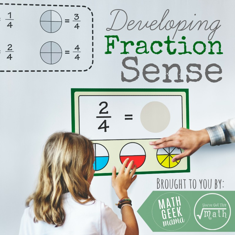 Fraction Sense Series Square
