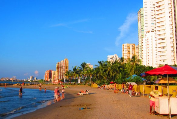 Miami Beach in Cartagena
