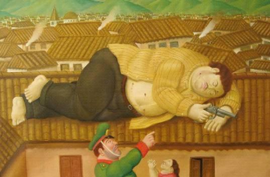 Botero: Escobar tot auf dem Dach