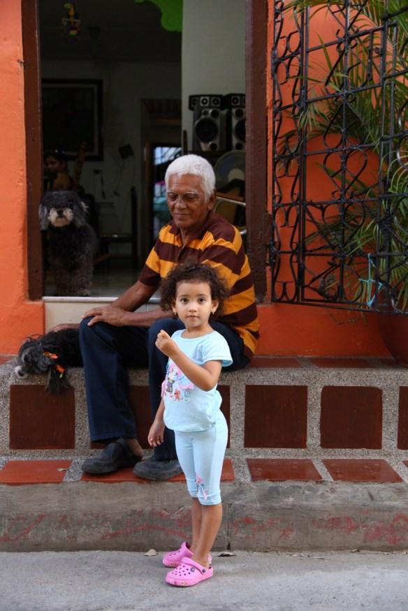 Jung und Alt in Cartagena