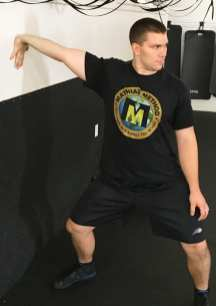 Bicep and Forearm Wall Stretch 7